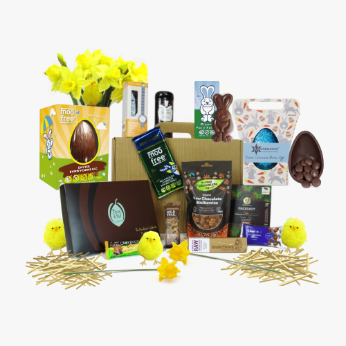 Easter hampers ripe gifts elite easter hamper suitable for vegans 7999 inc delivery negle Choice Image