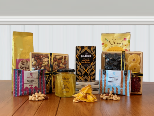 Kosher Fruit Nuts and Honey gift hamper